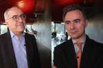 Manuel Tunon de Lara, président de l'université de Bordeaux et José Milano, directeur général de Kedge Business School, à O21 Bordeaux.