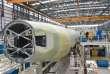 L'assemblage d'un Airbus A321 dansl'usine de Mobile (Alabama), le 7 mars.