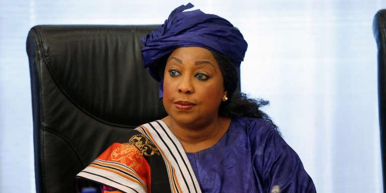 Fatma Samoura, à Abuja, en juillet 2016.