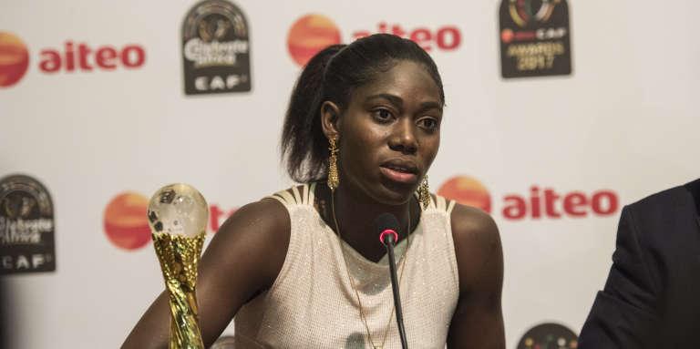 Asisat Oshoala, à Accra, en janvier 2018.
