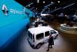 Des modèles Renault au Salon international de l'automobile de Genève, le 6 mars.