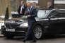 Le président du Conseil européen Donald Tusk arrive à Londres pour rencontrer la première ministre britannique Theresa May, le 1er mars.