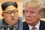 """La proposition de rencontre de Kim Jong-un a été annoncée le 9 mars. C'est un indéniable succès pour Donald Trump qui a durcit le ton face au dictateur.""""AFP PHOTO/KCNA VIA KNS"""""""