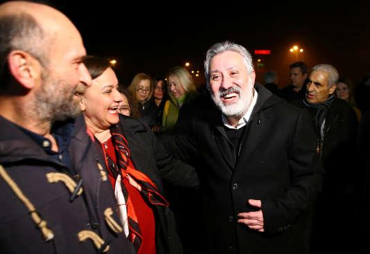 Le rédacteur en chef du quotidien «Cumhuriyet», Murat Sabuncu, a été libéré le 9 mars près d'Istanbul, en Turquie.