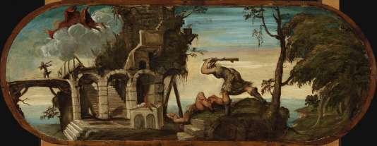 «Caïn et Abel» par le Tintoret, vers 1538-1539.