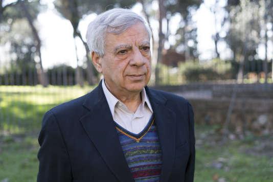 Le président et fondateur de l'association Ossigeno, Alberto Spampinato, à Rome, le 13février.