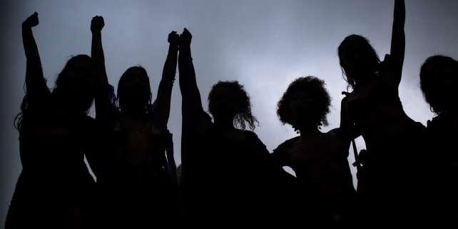 Manifestation à Rio lors de la Journée internationale de lutte pour les droits des femmes, le 8 mars.