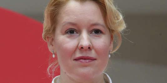 Franziska Giffey, nouvelle ministre de la famille, à Berlin, le 9 mars.