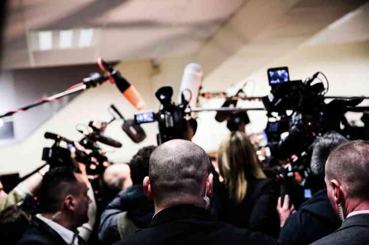 Premier jour du XVIe congrès du Front national à Lille, le 10 mars.