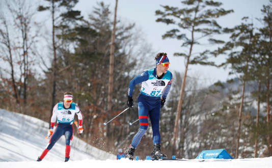 Le biathèle Benjamin Daviet a décroché la médaille d'or lors de l'épreuve 7,5 km, catégorie debout.