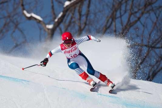 La Française Marie Bochet a remporté l'or samedi 10 mars en descente de ski à Pyeongchang.