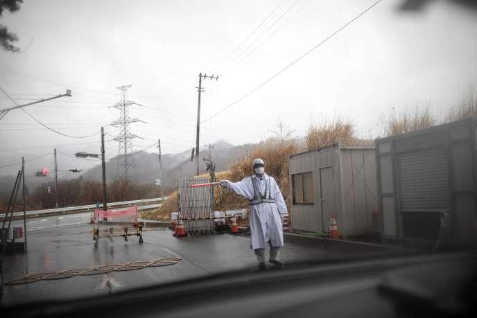 A Futaba,dans la préfecture de Fukushima, au Japon, le 5 mars 2018.
