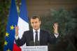 Emmanuel Macron, devant la communauté française à l'ambassade de France à New Delhi, dimanche 11 mars.