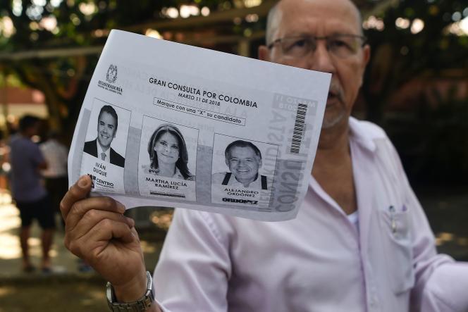 Les Colombiens étaient appelés aux urnes pour élire leur Parlement, le 11 mars.