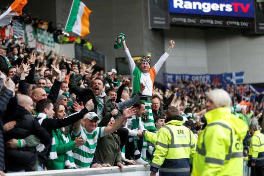 Les supporteurs du Celtic Glasgow, le 11 mars 2018.
