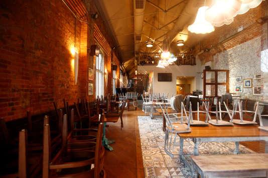 Le Mill, pub de Salisbury, fréquenté il y a une semaine, par Sergeï et Youlia Skripal quand ils ont été empoisonnés dans des circonstances encore floues. Le 11 mars.