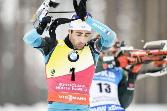 Martin Fourcade renforce sa position de leader de la Coupe du monde de biathlon.