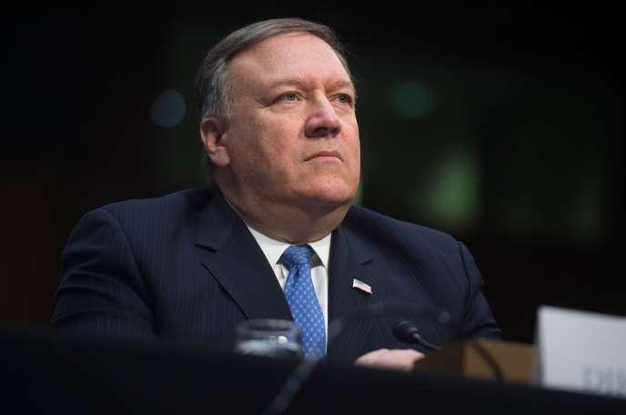 Le directeur de la CIA, Mike Pompeo, le 13 février.