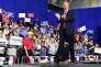 Donald Trump lors d'unmeeting à Moon Township (Pennsylvanie), le 10 mars.