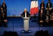 Marine Le Pen, lors de son discours de clôture du XVIe congrès du Front national, à Lille, le 11 mars.
