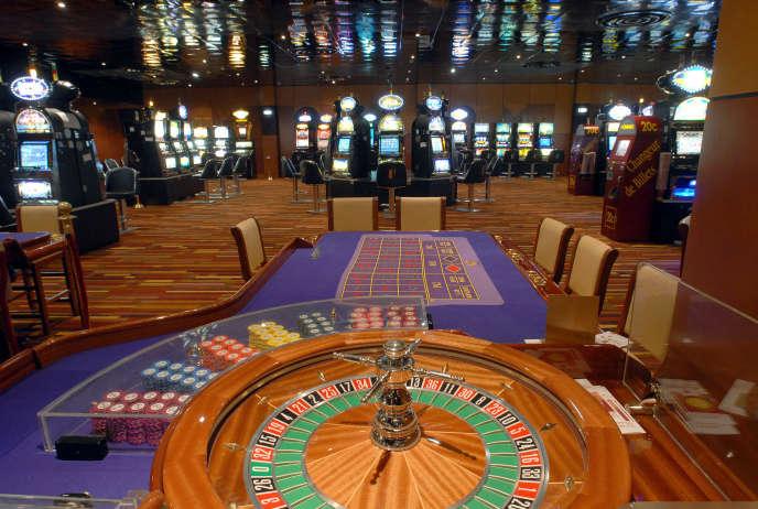 Un casino du groupe Partouche, au Havre, en juin 2006.