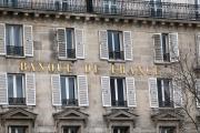 La façade des locaux de la Banque de France à Paris, en 2018.