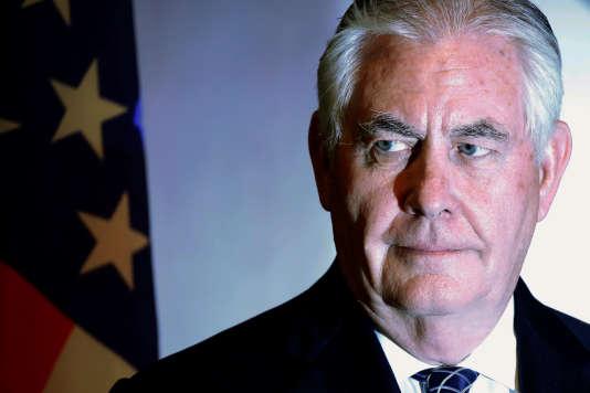 L'ancien patron du géant pétrolier ExxonMobil avait été recommandé à Donald Trump par Condoleezza Rice, l'ancienne secrétaire d'Etat de George W. Bush.