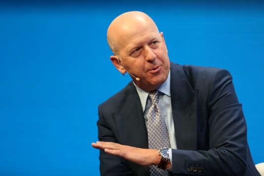David M. Solomon, désormais unique numéro deux de Goldman Sachs, à Beverly Hills en Californie le 1er mai 2017.