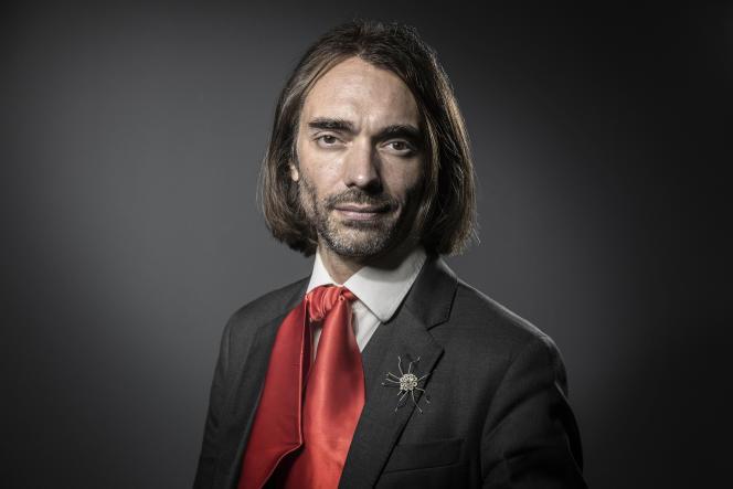 Le mathématicien et député de l'Essonne (La République en marche) Cedric Villani, à Paris, le 2 juin 2017.