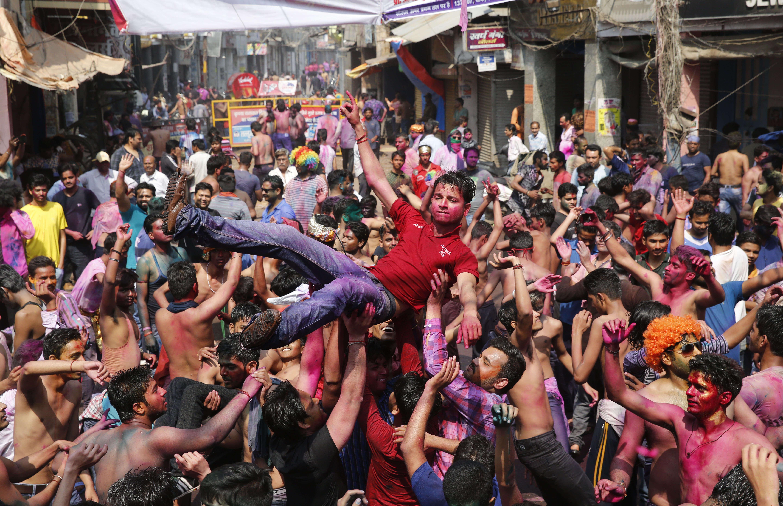 A Allahabad, dans le nord de l'Inde, le 2 mars.