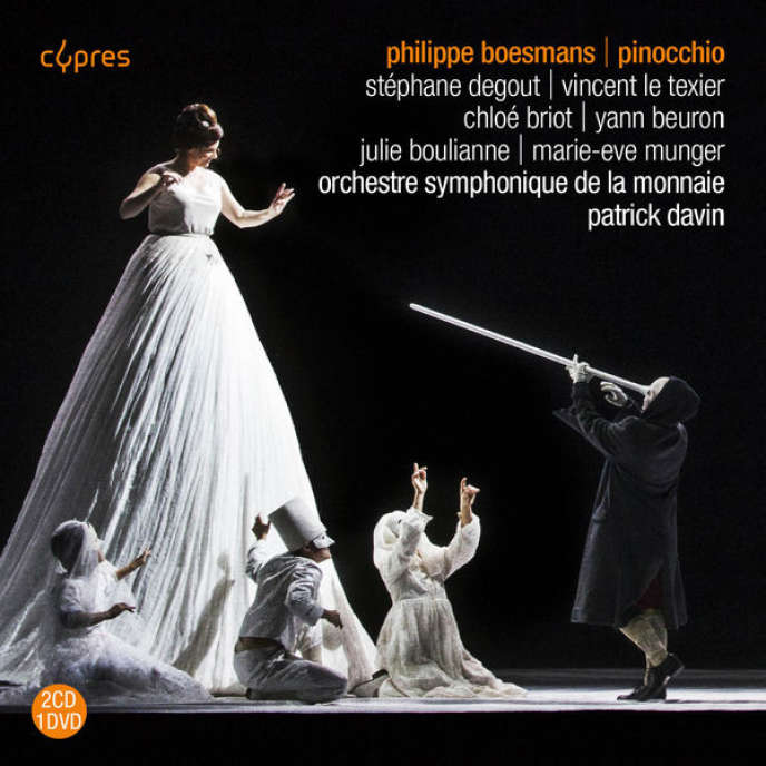 Pochette de l'album« Pinocchio», dePhilippe Boesmans.