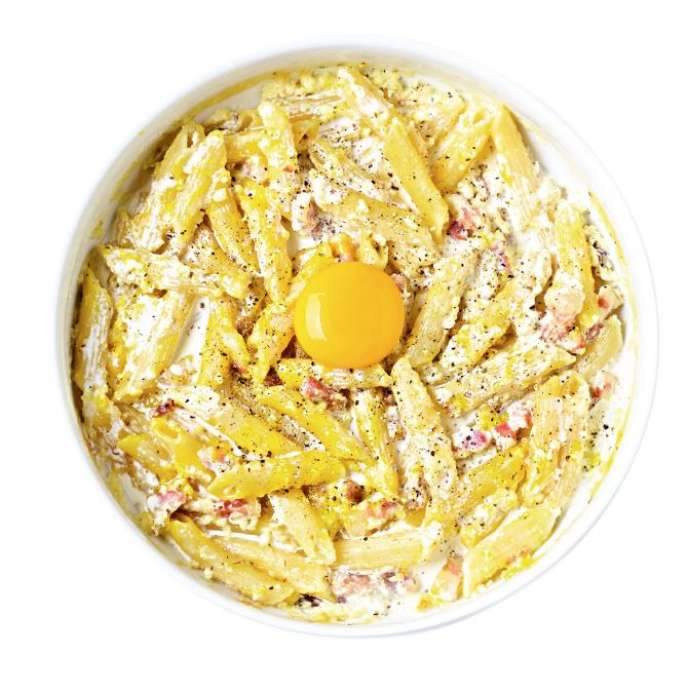 La Cuisine Des Etudiants 5 9 Les Penne Carbonara Au