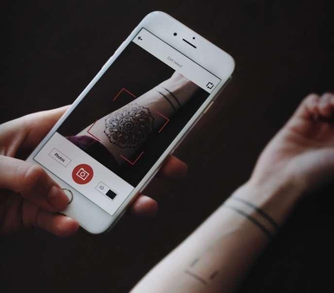 L'appli Ink Hunter permet d'essayer un tatouage avant d'en venir aux aiguilles.