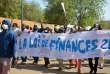 Manifestation contre la loi de finances à Niamey, le 14 janvier 2018.