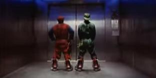 Extrait de la bande annonce de «Super Mario Bros» sorti en 1993.