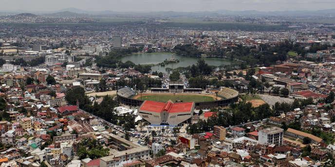 Antananarivo, la capitale de Madagascar, en décembre 2013.