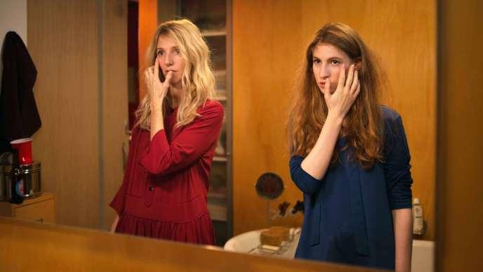 Sandrine Kiberlain et Agathe Bonitzer, deux versions de la même Margaux.
