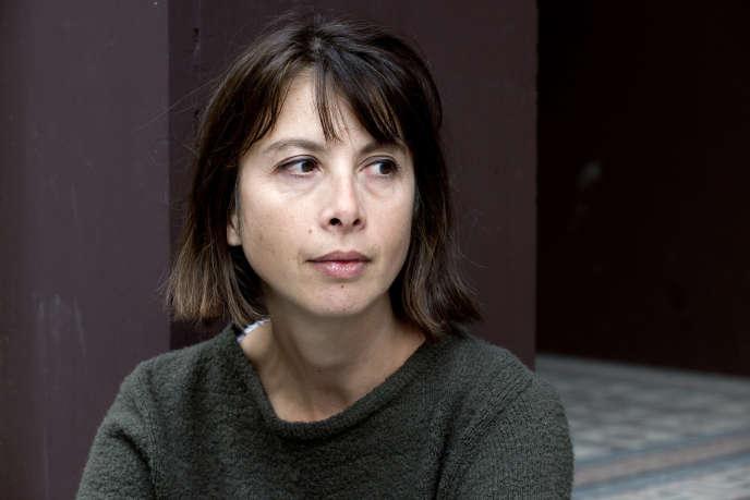 Nathalie Quintane, à Paris, en 2010.