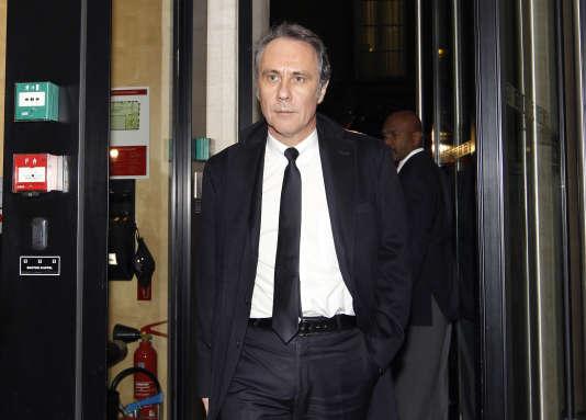 Dominique Paillé, à Paris, en novembre 2010.