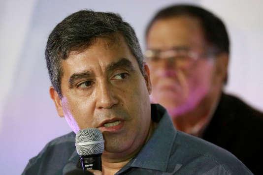 L'ancien ministre de l'intérieur du Venezuela,Miguel Rodriguez Torres, à Caracas, le 27 juin 2017.