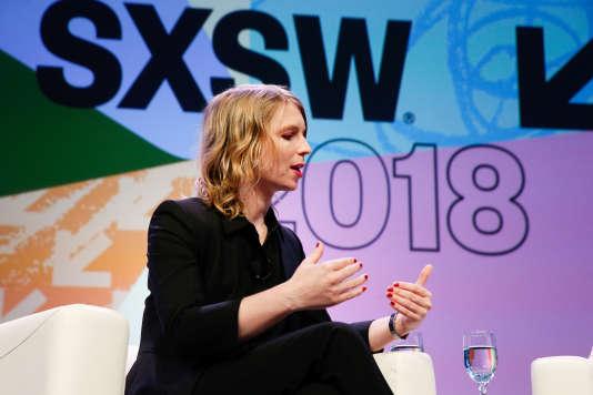 La lanceuse d'alerte est intervenue sur la scène du festival SXSW, relatant notamment les difficultés rencontrées depuis sa libération, il y a moins d'un an.