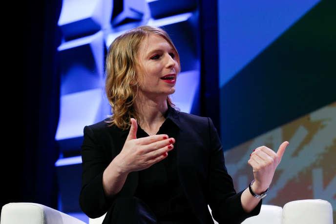 Chelsea Manning lors du festival South by Southwest à Austin, au Texas, le 13 mars.