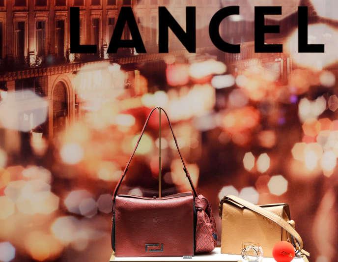 Une boutique Lancel à Bordeaux (Gironde), le 28 novembre 2017.