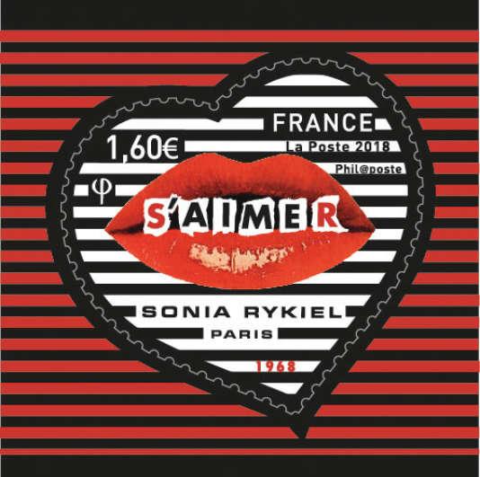 Timbre Sonia Rykiel, paru le 15 janvier.