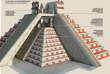 Reconstitution 3D du Kukulkan.