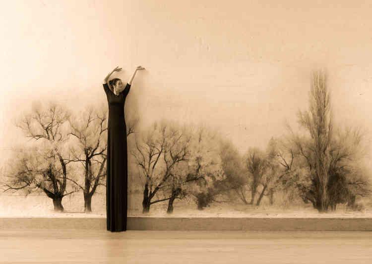« Des femmes perchées sur des échasses qui se déplacent dans un monde fictif. Alain Gillet dresse ici un récit plein de poésie et de délicatesse en revisitant à sa manière les codes de la culture landaise. »