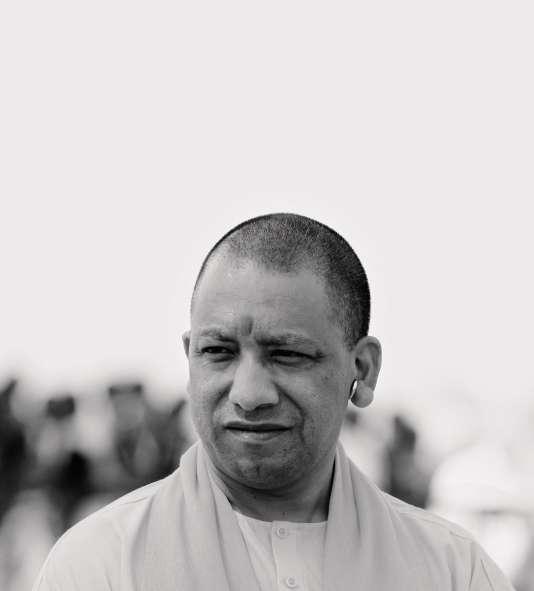 Yogi Adityanath, dirigeant de l'Etat de l'Uttar Pradesh.