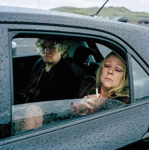En vacances avec Jackie à Portrush, Irlande du Nord (2013).