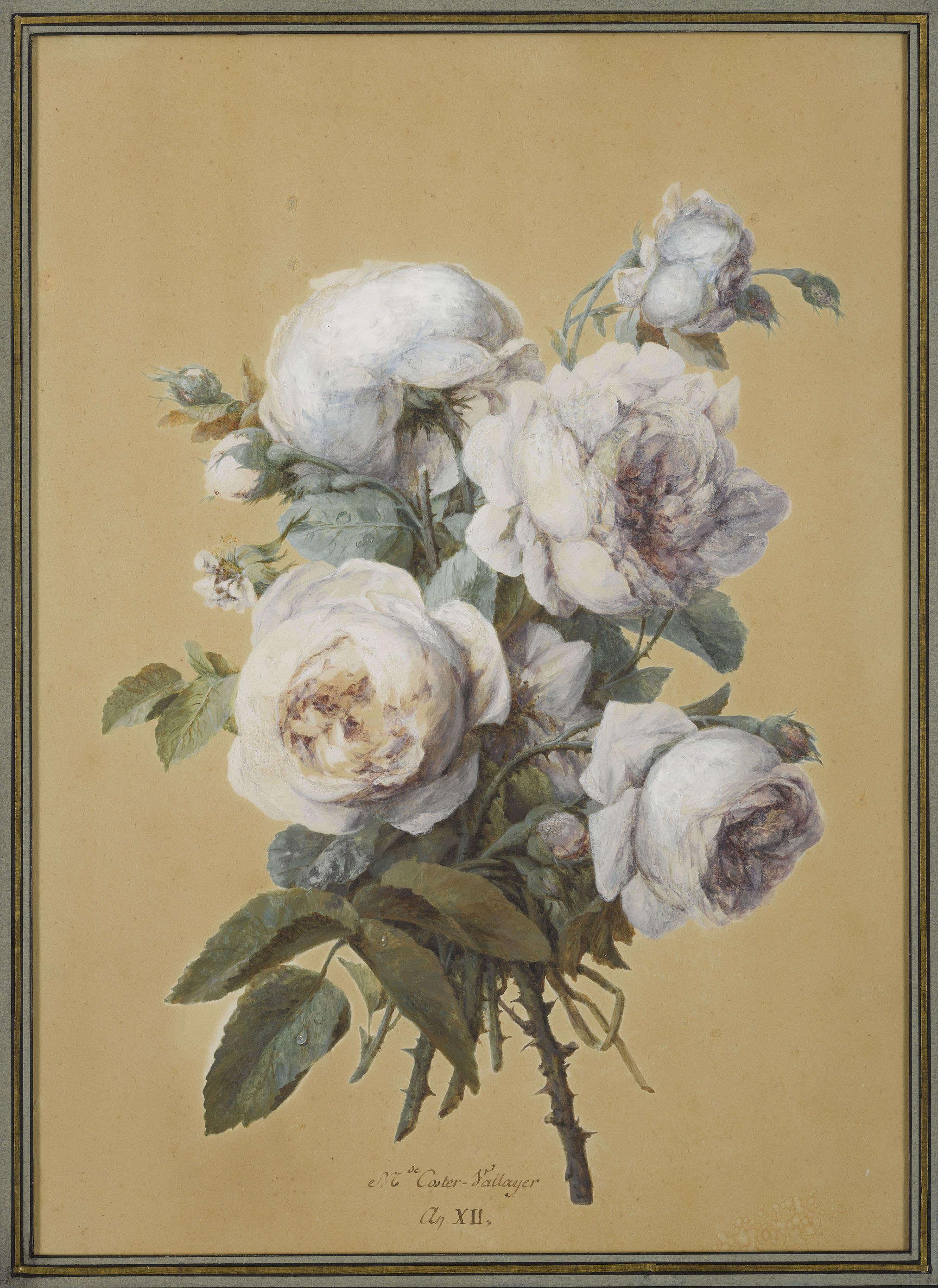 Cette œuvre délicate, très« Ancien Régime», qui faisait partie de l'inventaire de la Malmaison en 1814, a été acquise en 2017. Elle devrait y être prochainement présentée.