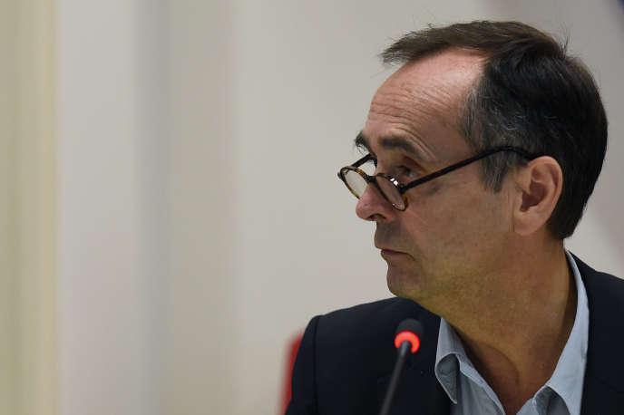 Robert Ménard, à Béziers, le 18octobre 2016.